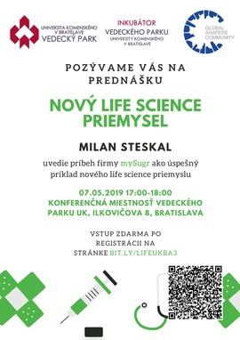 New life science industry - lecture in CUSP - May 7 2019